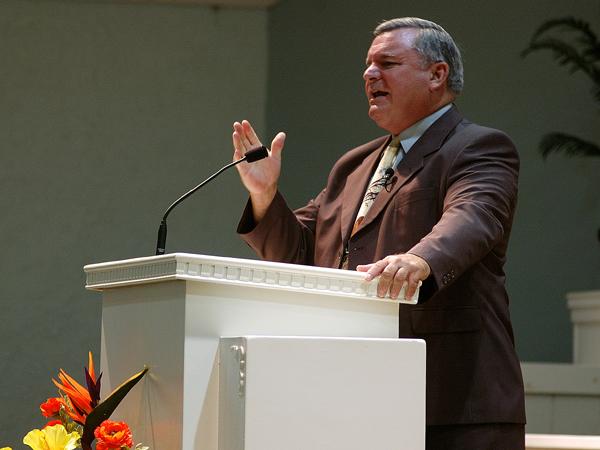 Pastor Bill Adams